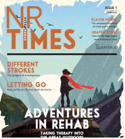 NEURO-REHABILITATION TIMES AUTUMN EDITION – TAKING THE REHAB JOURNEY OFF PISTE